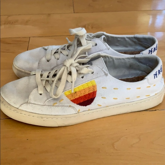 Soludos Shoes   Peace Out Sun Sneakers